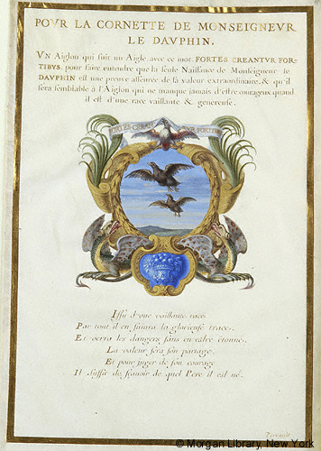 A medieval emblem book from The Morgan Library & Museum in New York that is part of the history of scrapbooking
