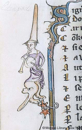 Literary, MS G 24 fol  124v - Images from Medieval and Renaissance