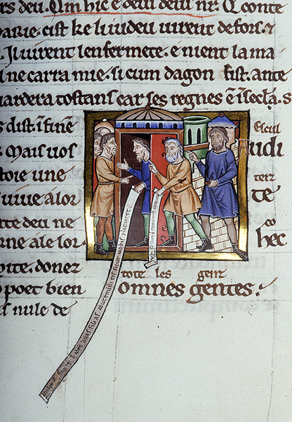 Psalter Ms M 338 Fol 193v Images From Medieval And