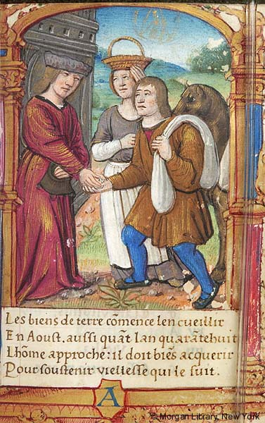 Commerce, from a 1510s Book of Hours